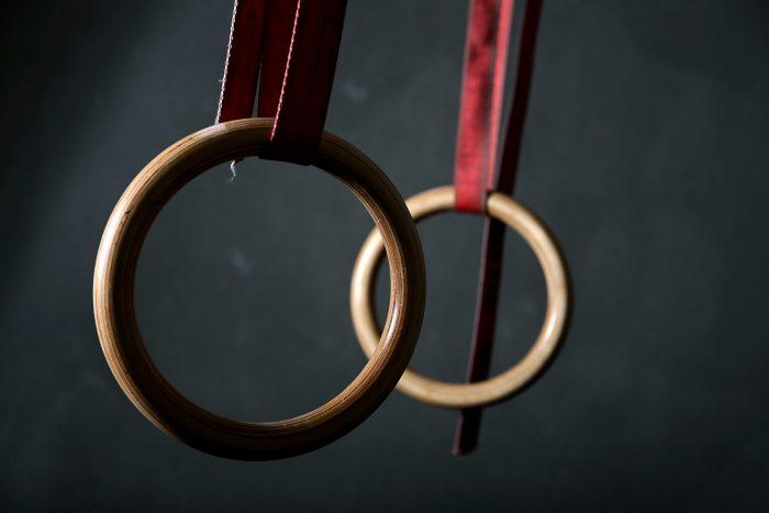 Gym Rings - Turnringe aus Birkenholz