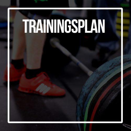 individueller Trainingsplan